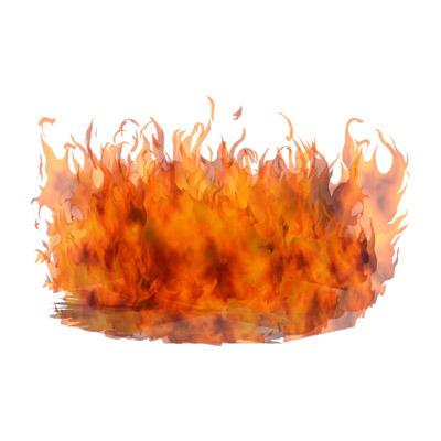 Fire Flames Effect 3d Model Formfonts 3d Models Amp Textures