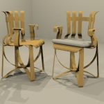 View Larger Image of FF_Model_ID5635_Gehry_Hat_Trick_Arm_Chair.jpg