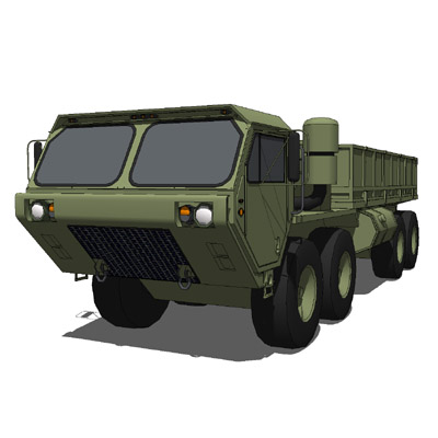 The Heavy Expanded Mobility Tactical Truck (HEMTT)....
