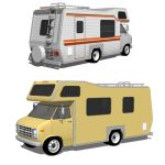 Chevrolet Motorhome, in two configurations, flat c...