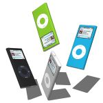 Apple´s iPod Nano in four different c...