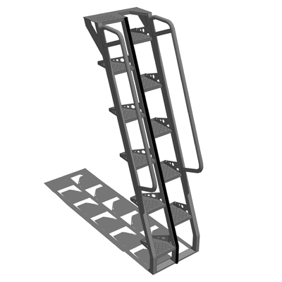 Lapeyre Stairs 3D Model