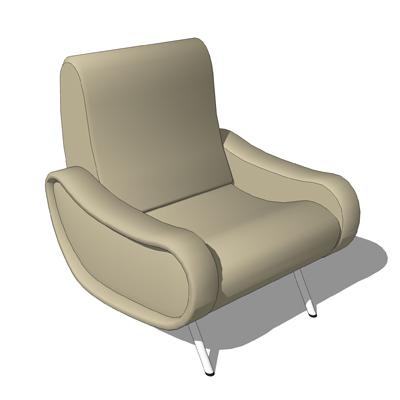 Lady Chair 3d Model Formfonts 3d Models Amp Textures