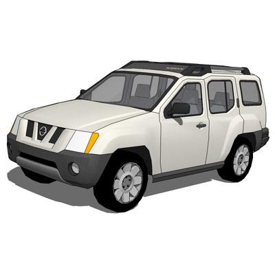 Nissan XTerra 2007 3D Model - FormFonts 3D Models & Textures