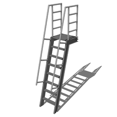 Okeeffes Ships Ladders 3d Model Formfonts 3d Models