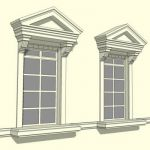 Colonial Window or Balcony Door Opening (less balu...