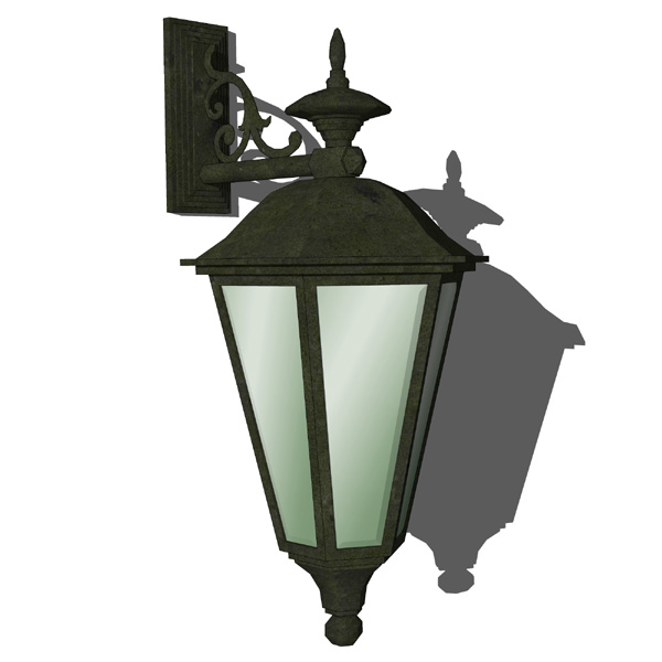 Cast Iron Sconce 3d Model Formfonts 3d Models Amp Textures