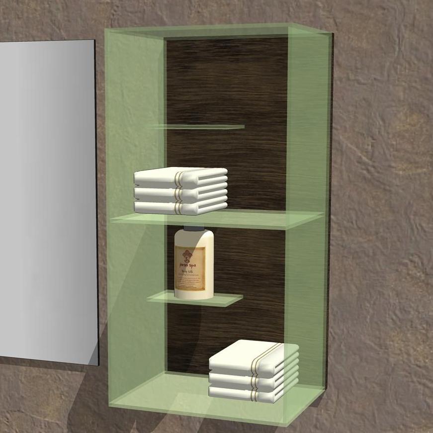 Simple series bathroom 3d model formfonts 3d models for Bathroom configurations