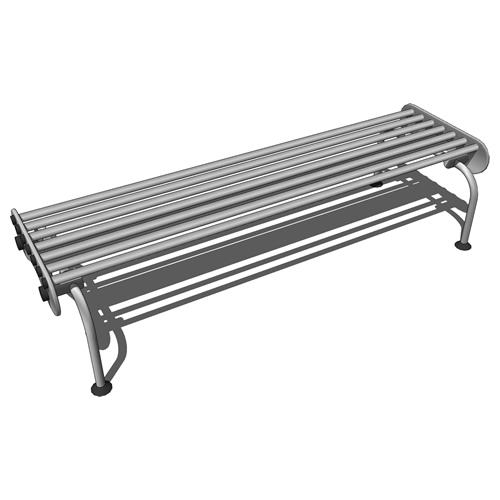Modern city bench for commercial areas. Also fits ....