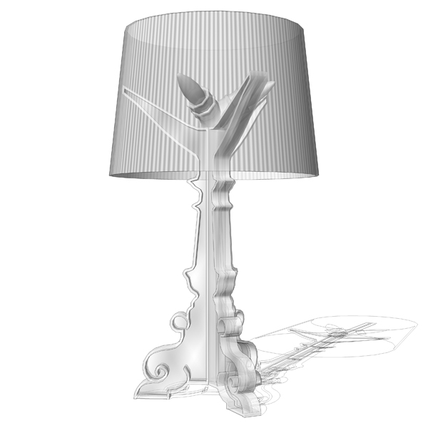 Bourgie Table Lamp 3d Model Formfonts 3d Models Amp Textures