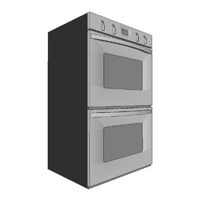 Double Oven 3D Model - FormFonts 3D Models & Textures