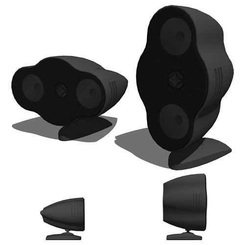 Home Cinema Surround set. Subwoofer based on Sony ....