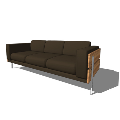 Robin day 3 3d model formfonts 3d models textures - Chaise robin day habitat ...
