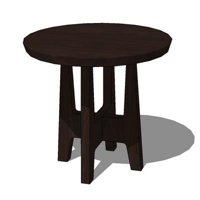 Marvelous Tribal Table 3D Model