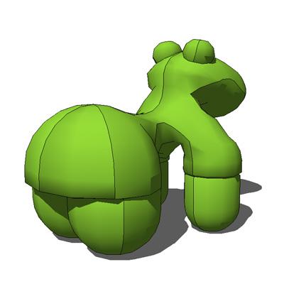 Pony Chair By Eero Aarnio 3D Model