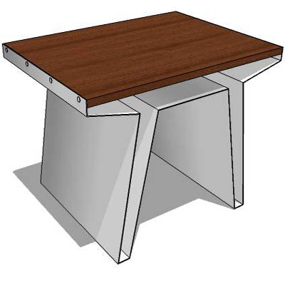 Coffee Table Components Sketchup