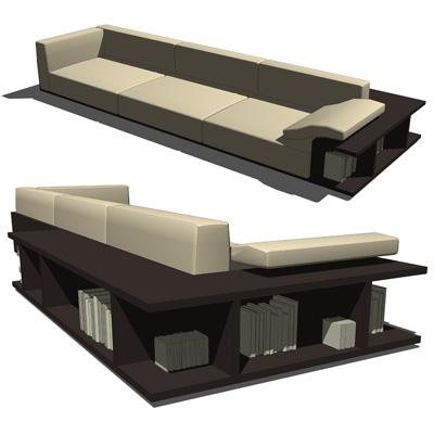 Mex Furniture set consists out of three items, a b....