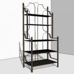 Wrought Iron Baker's Rack to compliment the rest o...