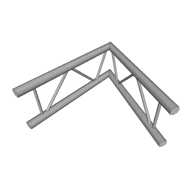 Aluminium ladder truss angular jointing section fr....