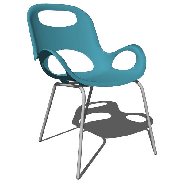 Oh chair 3D Model FormFonts 3D Models & Textures