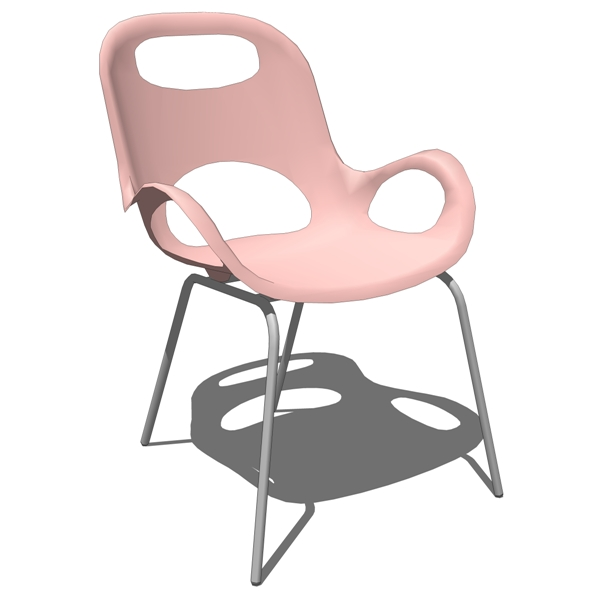 Superieur Oh Chair 3D Model