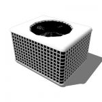 Generic Air Conditioner for site plans that is 48-...