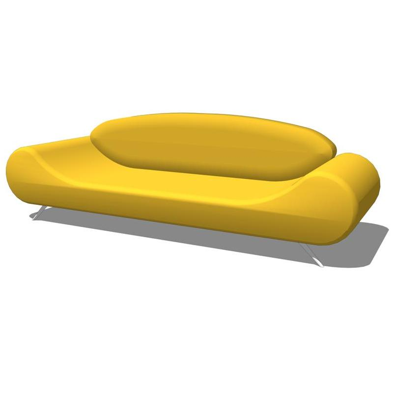 Z Harmony Sofa And Chair 3D Model