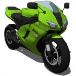 The Kawasaki Ninja ZX-6R is a Kawasaki middleweigh...