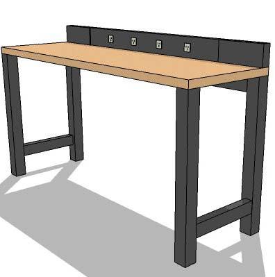 Maple Workbench 6ft 3d Model Formfonts 3d Models Textures