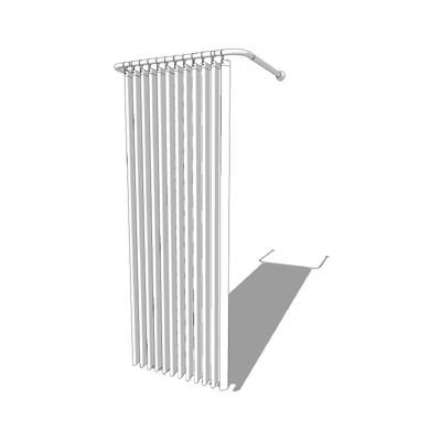 Shower Curtain 1 3D Model
