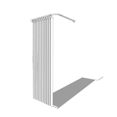 Shower Curtain 3d Model Formfonts 3d Models Textures