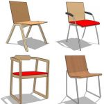 Assorted dining chair