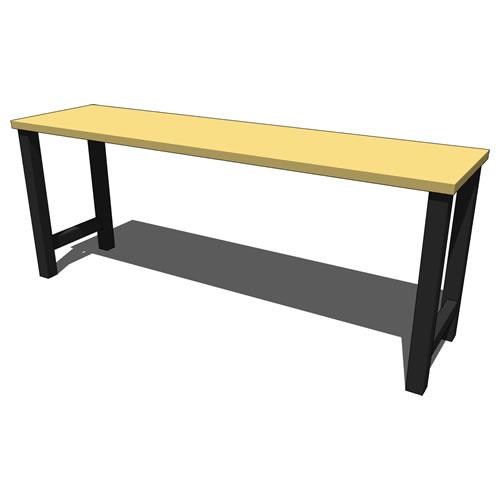 Outstanding Gladiator 8Ft Modular Workbench Gawb08Mtrg 3D Model Evergreenethics Interior Chair Design Evergreenethicsorg