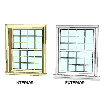 Andersen Windows - 400 Series - Woodwright Dbl Hung Window ...