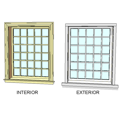 Series 400 Double Hung windows by Andersen. Fully ....