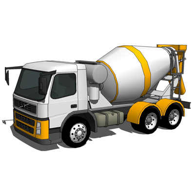Concrete Mixer Truck, based on Volvo FM12.