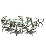 Cabaliere dining set by Herreria Gallegos.