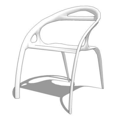 go chair 3d model formfonts 3d models textures