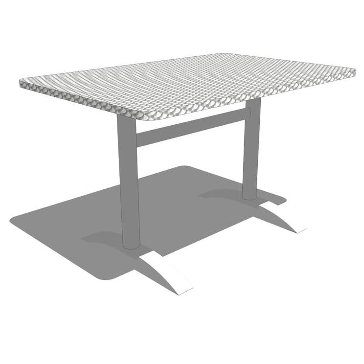 Eddy Table And Bandit Chair 3d Model Formfonts 3d Models