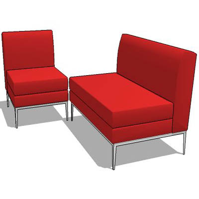 Modular sofa set include chaise lounge and oversiz....