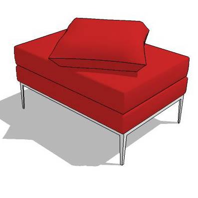 Libre modular sofa set 3D Model - FormFonts 3D Models & Textures