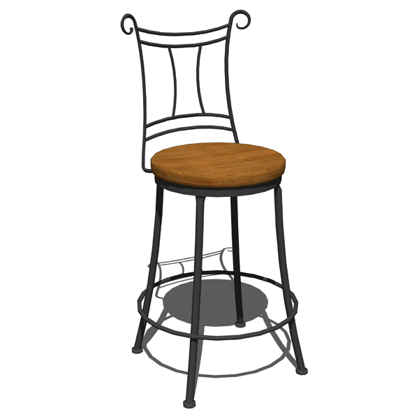 Outdoor Wrought Iron Swivel Bar Stools 2017 2018 Best  : wrought iron side chair and counter stool stoneFFModelID75512WaterburycounterstoolFMH1142 from autospecsinfo.com size 600 x 600 jpeg 84kB