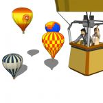 Hot air balloons are the oldest successful human c...