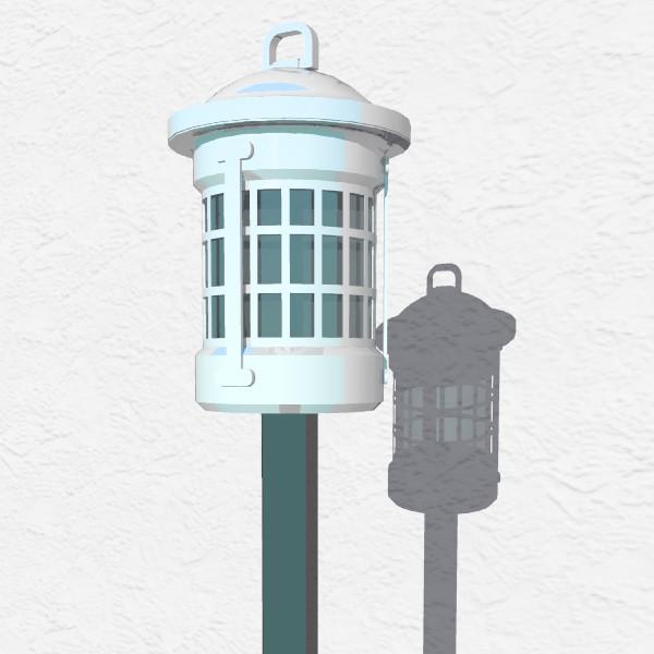 Peweter Exterior Lighting Fixtures 3d Model Formfonts 3d Models Textures