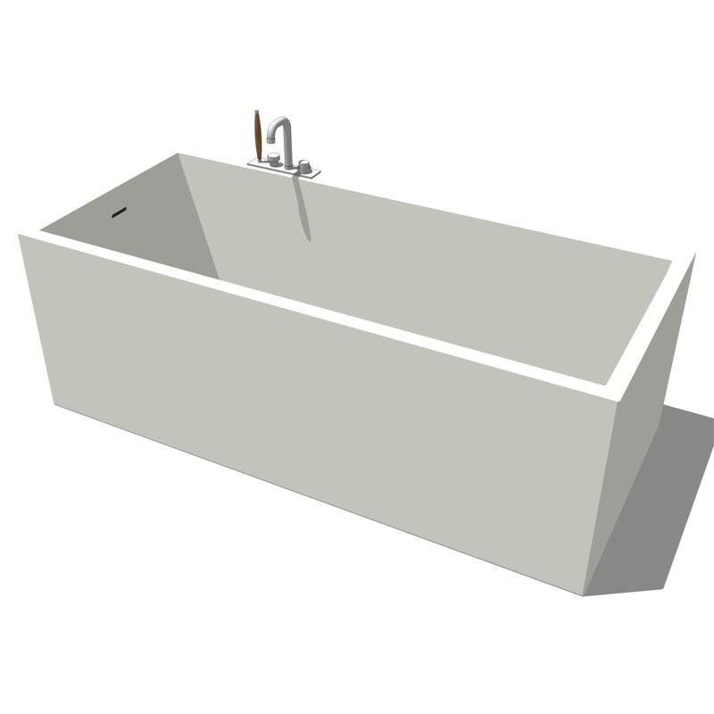 Boffi Mood Bathtub 3D Model - FormFonts 3D Models & Textures