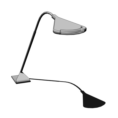 This sophisticated reading lamp draws a mere five ....