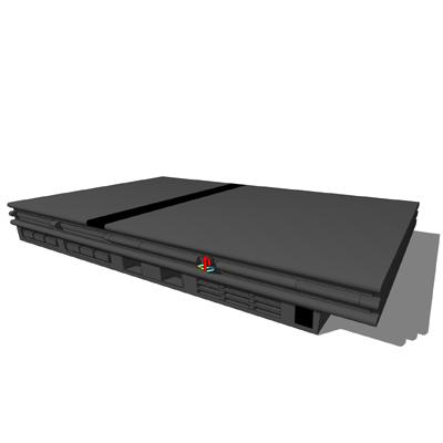Playstation 2 3D Model - FormFonts 3D Models & Textures