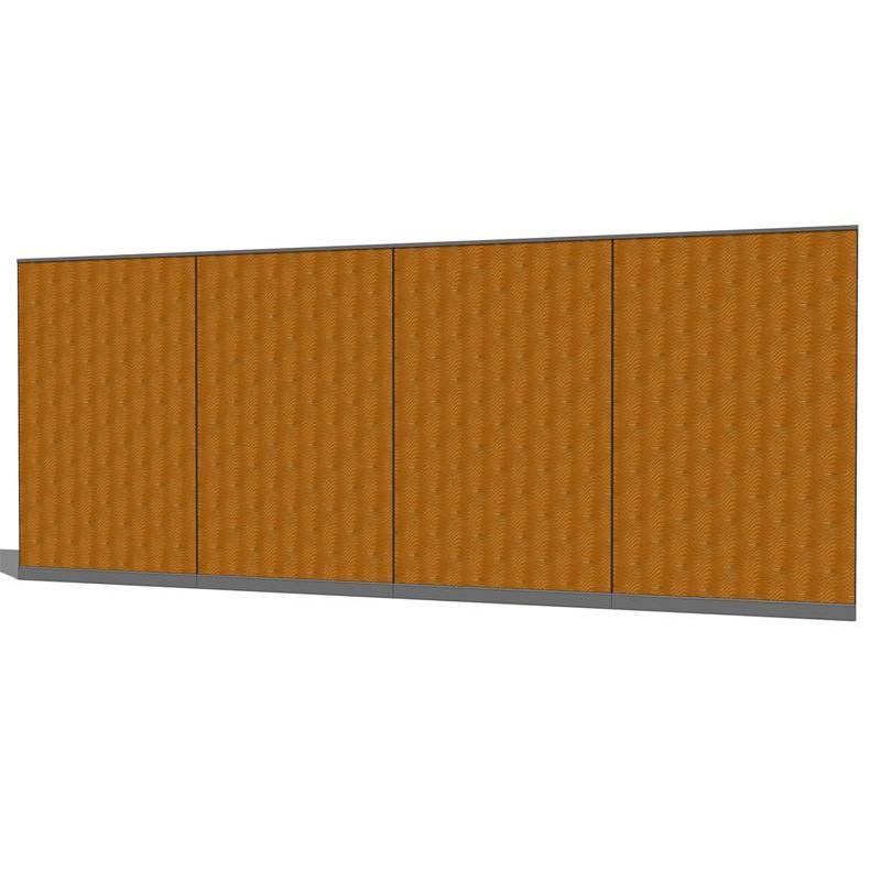 Fabric Wall Partitions : Fabric wall partition system d model formfonts