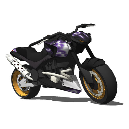 BMW Street Figthter Style Motorbike