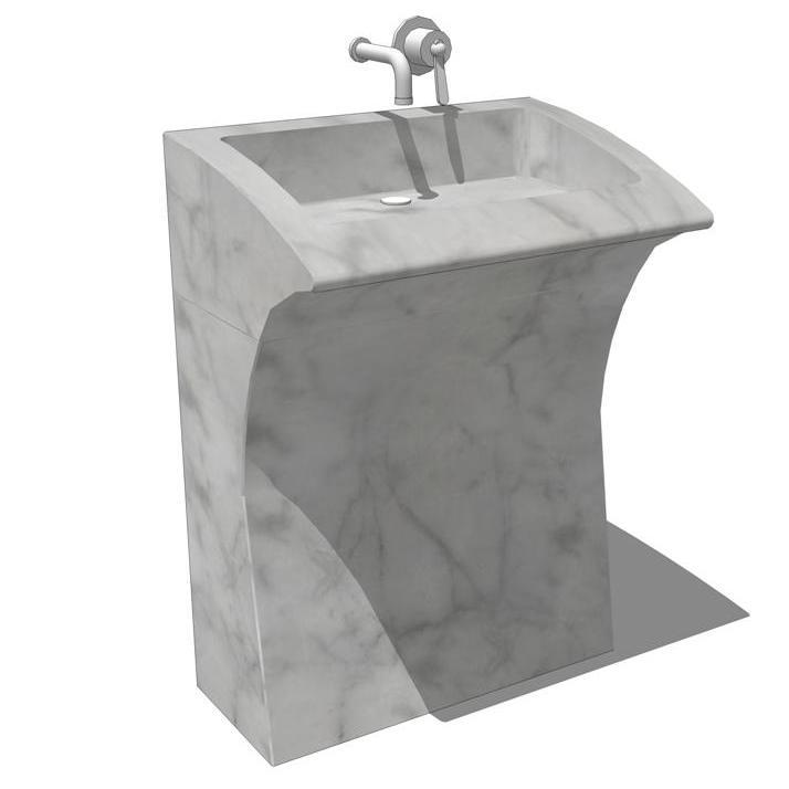 Agape Lito Sink 3d Model Formfonts 3d Models Amp Textures